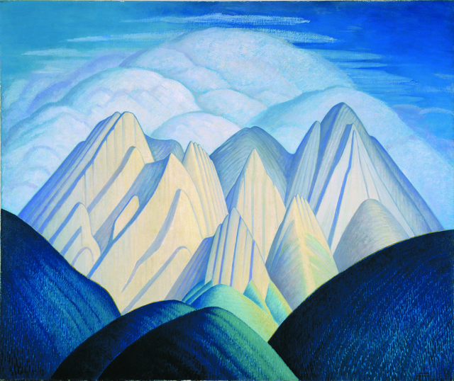 , 'Untitled (Mountains Near Jasper),' ca. 1934, Hammer Museum