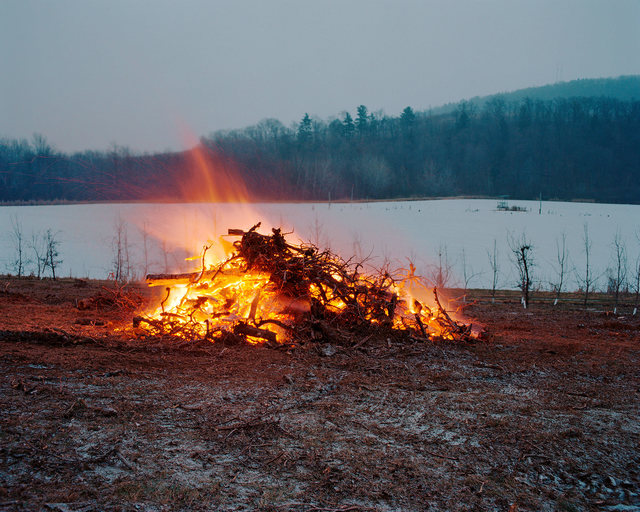 , 'Orchard Burning, Livingston, New York, 2016,' 2016, Tracey Morgan Gallery