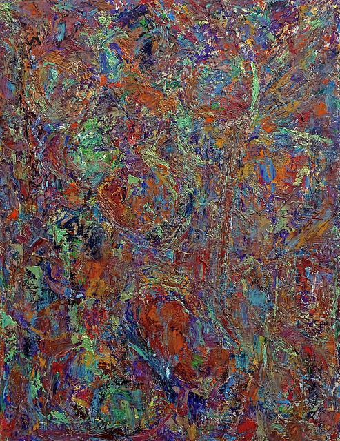 Frédéric Choisel, 'Jour de Fête 3 / Celebration Day 3', 2014, Painting, Oil on linen, metallicpigments, aluminum framed, Andra Norris Gallery