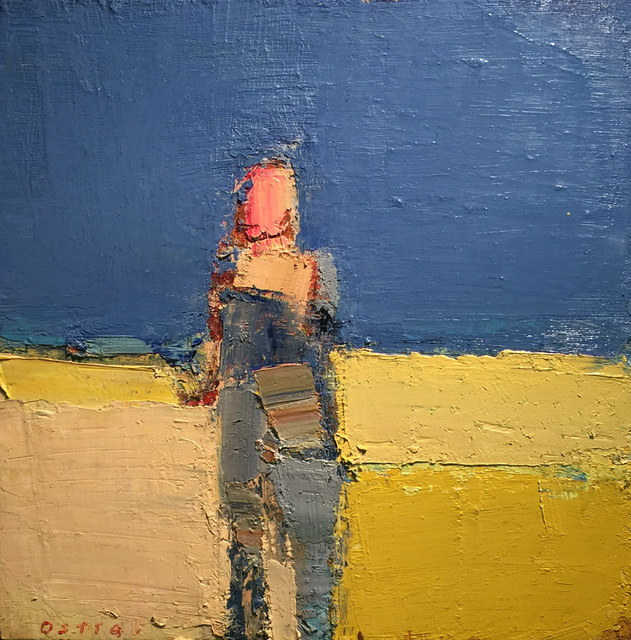 , 'Summer in Yellow and Blue,' 2018, Sue Greenwood Fine Art
