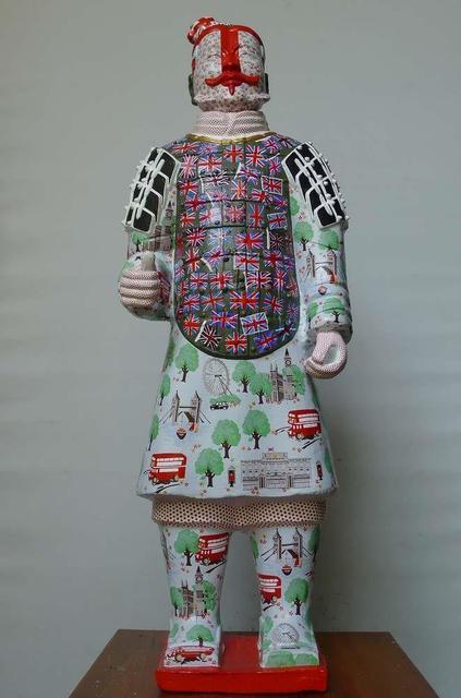 Fenghua Liu, 'Terracotta Warrior - London 2012', 2012, Tanya Baxter Contemporary