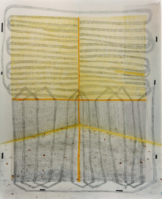 , 'Spatial drawing 1,' 2016, Galerie Bart