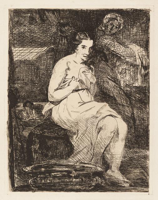 Édouard Manet, 'The Toilette', 1862, Clark Art Institute