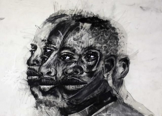 ZWELETHU MACHEPHA, 'Leshoka Joe Legate', 2019, Richard Beavers Gallery