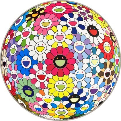 Takashi Murakami, 'Flowerball: Hold Me Tight', 2017, Lougher Contemporary
