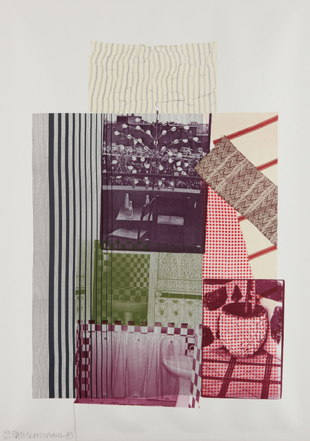 Robert Rauschenberg, 'Pre-Morocco, from Eight by Eight to Celebrate the Temporary Contemporary', 1983, Phillips