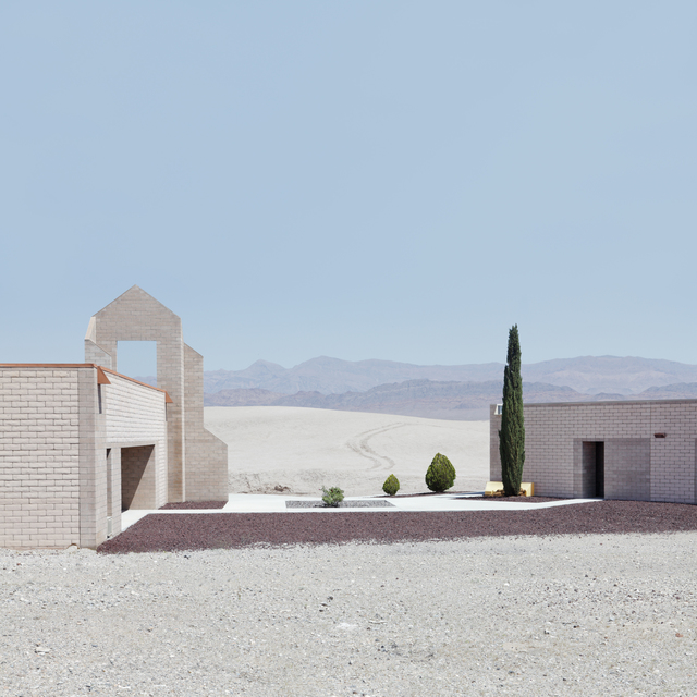 , 'Building and Pines,' 2010, Robert Berman Gallery