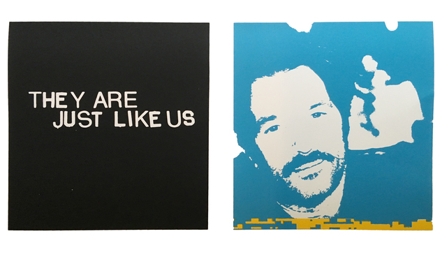 , 'They Are Just Like Us,' 2017, Back Gallery Project