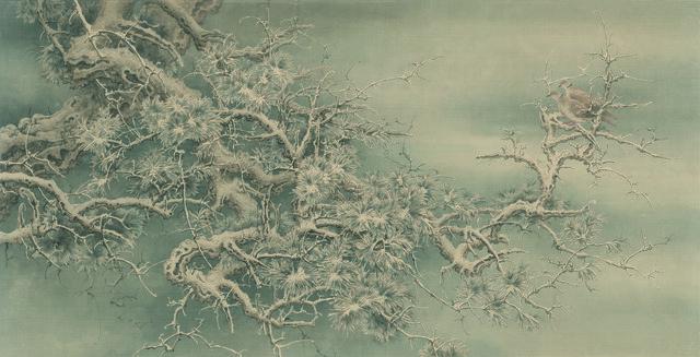 , 'Snow Covered Pine Tree,' 2018, Chelesa Art (潔思園)