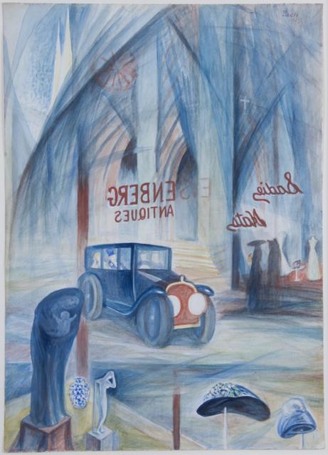 , 'The Automobile (Fifth Avenue),' 1919, Francis M. Naumann Fine Art