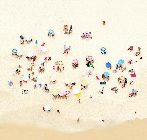 , 'Sunbathers of Copacabana II, ed. 2/7,' 2016, Bau-Xi Gallery