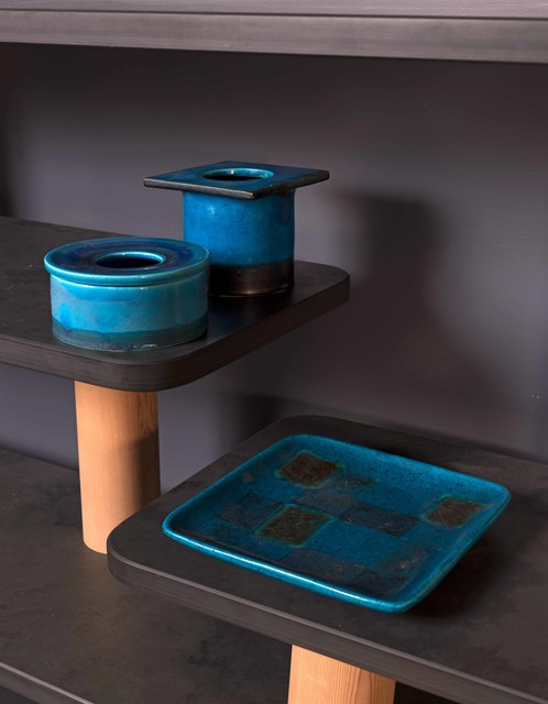 Bruno Gambone, 'Two ashtray and a dish', entre 1969 et 1979, Leclere