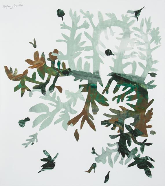 , 'Green Weed,' 2018, Valley House Gallery & Sculpture Garden