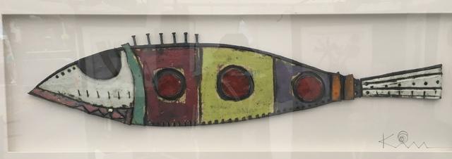Kimmy Cantrell, 'Cuban Fish', 2020, Sculpture, Triple Glazed Ceramic, Gugsa Black Arts Collective