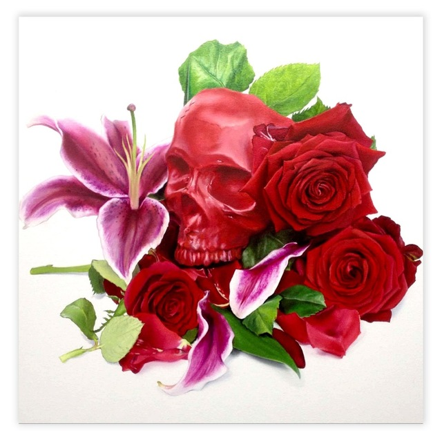 , 'Red Skull,' 2015, StolenSpace Gallery