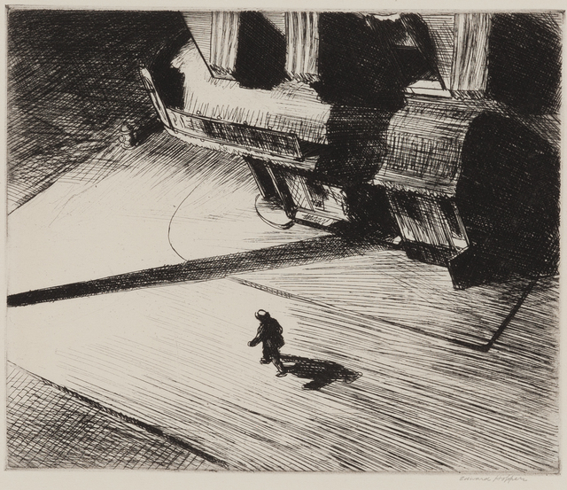 , 'Night Shadows,' 1921, Childs Gallery