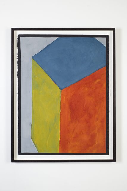 , 'Cube with Colors Superimposed (sloppy),' 1991, Marian Goodman Gallery