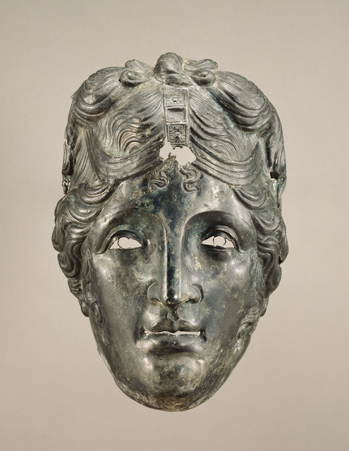 'Face Mask from Parade Helmet', 75 -125, J. Paul Getty Museum