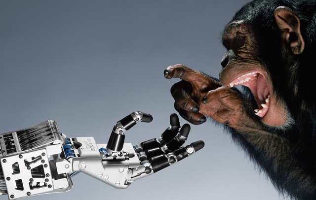 , 'Robotic Hand, Salt Lake City, Utah,' 1986, Pace/MacGill Gallery