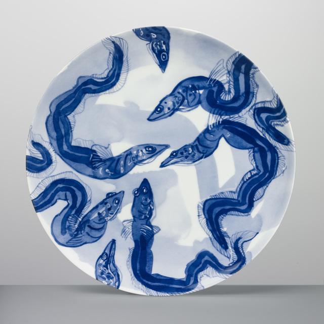 , 'Eels Plate ,' 2017, Sladmore Contemporary