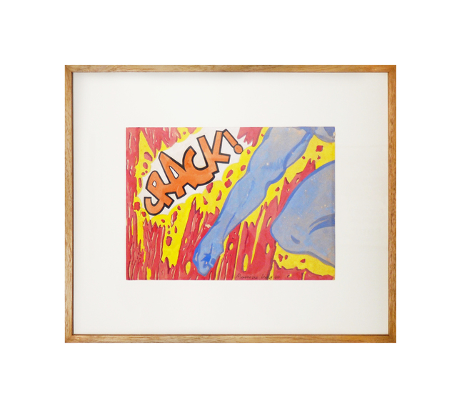 , 'Crack,' 1968, Galeria Houssein Jarouche