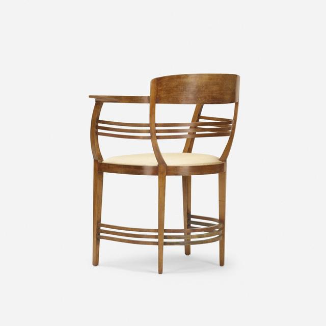 Joseph Maria Olbrich, 'armchair', 1899, Rago/Wright