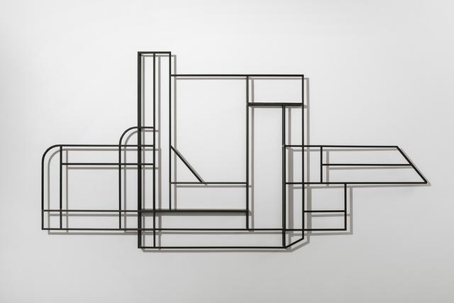 , 'Foldwork Triptych,' 2017, Chamber