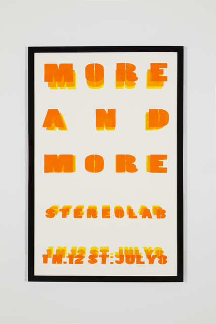 , 'We communicate more and more in more defined ways than ever before it's all very poor it's all just a bore,' 2013, Office Baroque