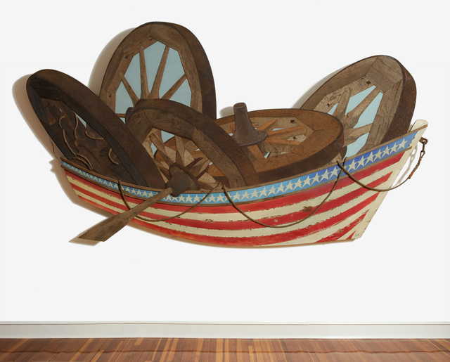 , 'Row Boat,' 2000, Carrie Haddad Gallery