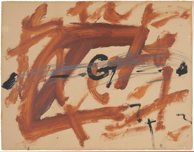 , 'Reddish Spots at G,' 1972, Mayoral