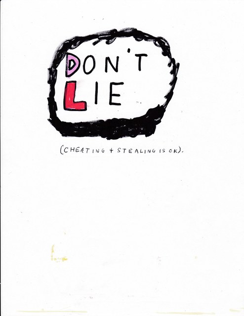 , 'Don't Lie,' 2017, Lora Reynolds Gallery