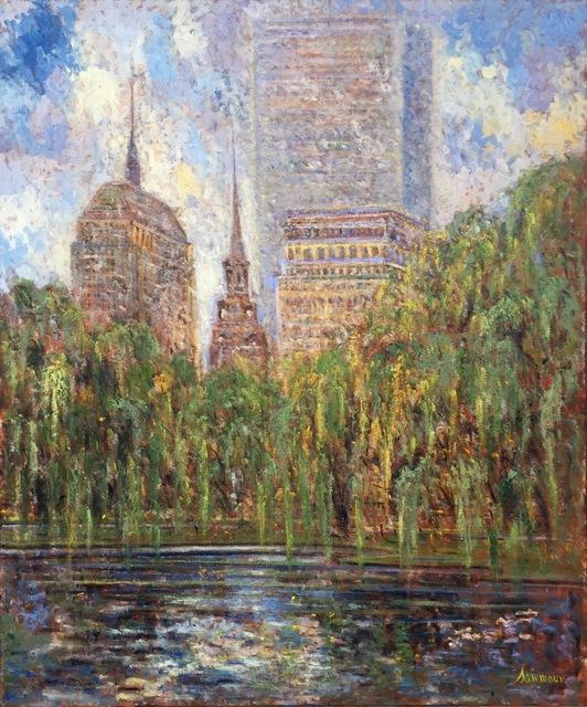 , 'Boston Park, Summertime,' 2016, Galerie d'Orsay