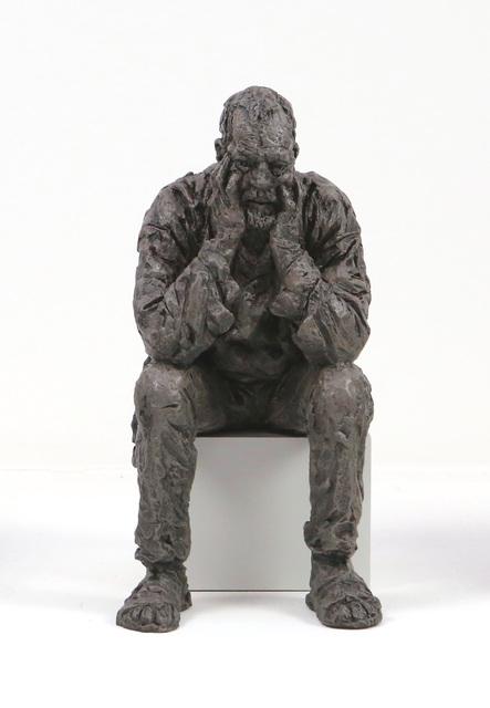 , 'Seated Man (Maquette II),' 2016, Galleri Andersson/Sandstrom