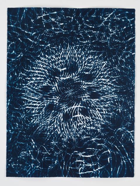 , 'Dark Energy Cyanotype 15,' 2015, Quint Gallery