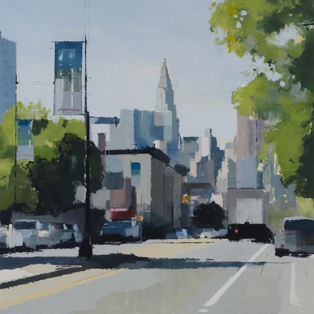 , 'Greens and Blues,' 2016, Kathryn Markel Fine Arts