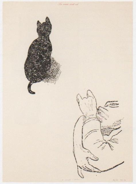 , 'La Souris écrit rat (A Compte d'auteur),' 1974, Richard Saltoun
