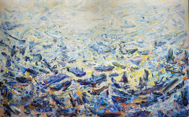 , 'Harbor of Diaspora,' 2019, M Fine Arts Galerie