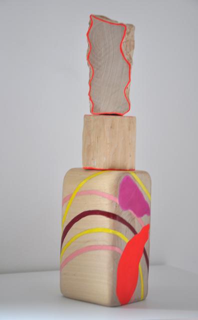 Cristina Avello, 'Flor de crecimiento VI', 2020, Sculpture, Linden wood, acrylic and pigment, Lucia Mendoza