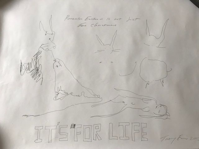 "Tracey Emin, 'TRACEY EMIN "" ""IT'S FOR LIFE"", EXCLUSIVE FOR SELFRIDGES LONDON', 2005, Arts Limited"