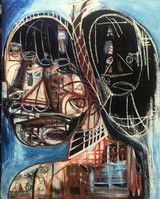 , 'Excuse my Back,' 2019, Richard Beavers Gallery