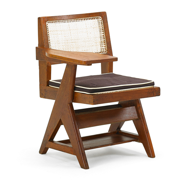 Pierre Jeanneret, 'Student Chair From The Chandigarh Administrative Buildings, France/India', 1950s, Rago/Wright