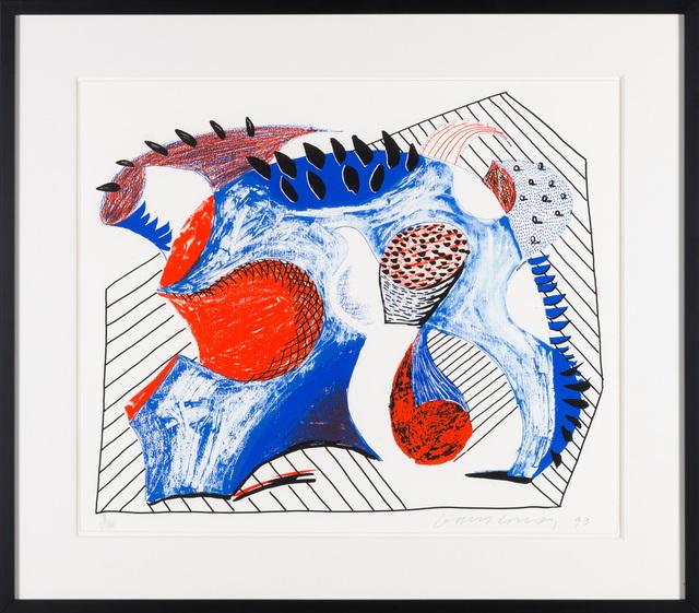 David Hockney, 'Untitled for Joel Wachs', 1993, Christopher-Clark Fine Art