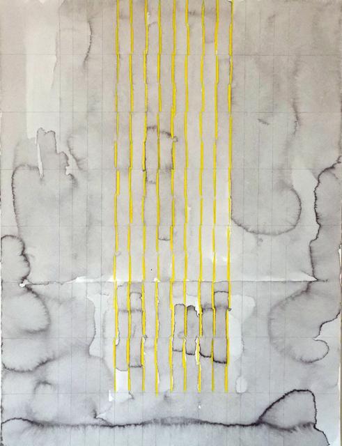 , 'Untitled, Study for Līnea,' 2017, Hemphill Artworks