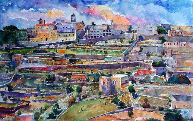 , 'Bethlehem,' 2018, Bab idDeir Art Gallery