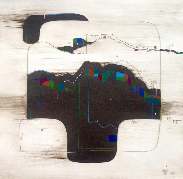 , 'Horitzons 6,' 2017, N2 Galería