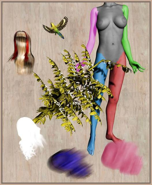 , 'RGB (FRAK) II,' 2007, Galerie Reinhard Hauff