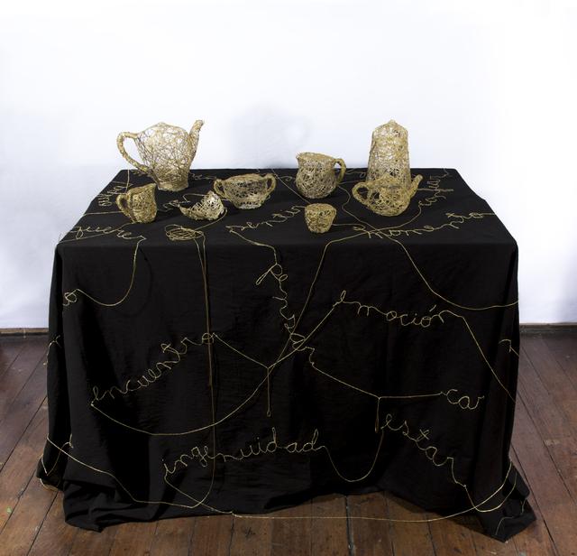 , 'Sobre una Mesa,' 2016, Isabel Aninat