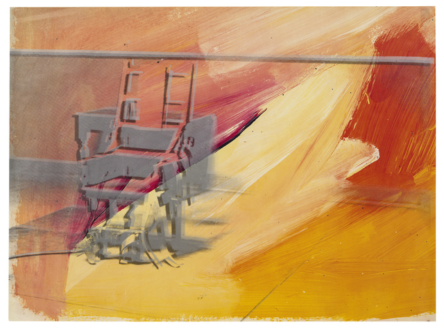 , 'Electric Chairs,' 1971, Susan Sheehan Gallery