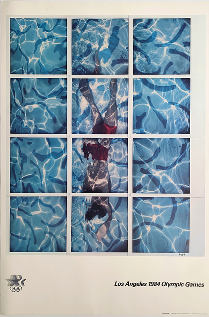 David Hockney, '1984 LA Olympics Poster ', 1984, David Lawrence Gallery