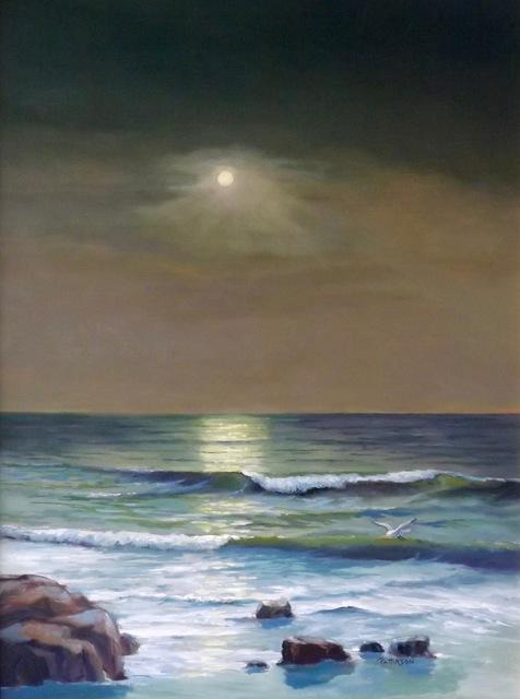 , 'Under a Full Moon,' , Peninsula Gallery